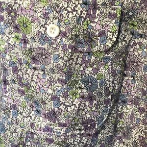 Talbots  Women's 3/4 Sleeve Purple Small Shirt